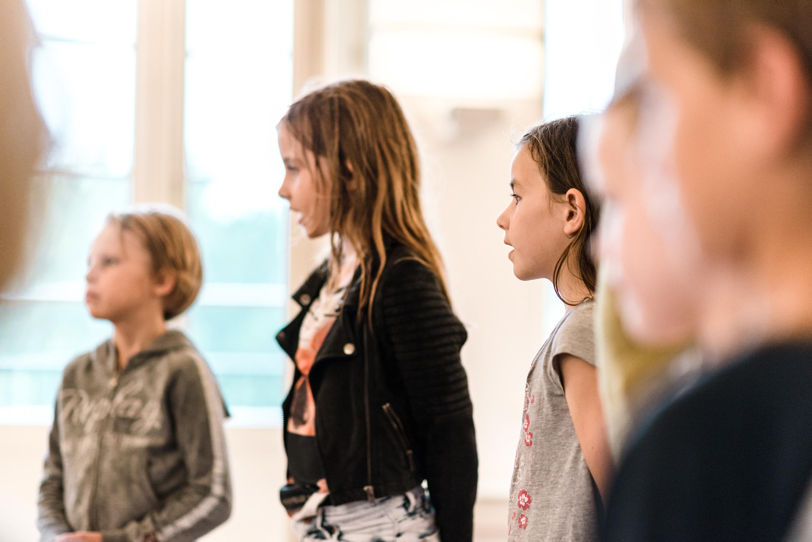 De Popzangschool Haarlem kids zangles groepsles