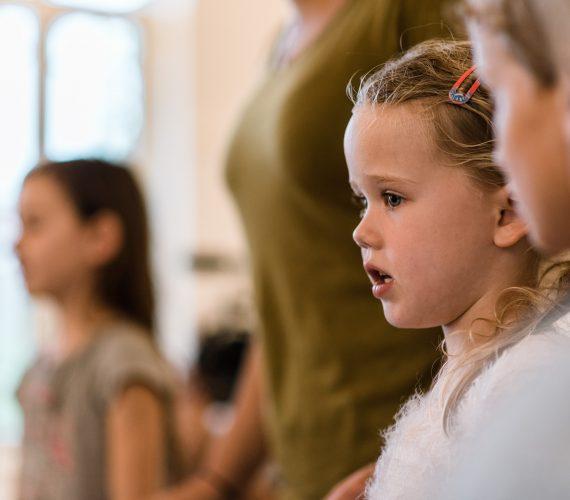 De Popzangschool Haarlem zangles groepsles kinderen